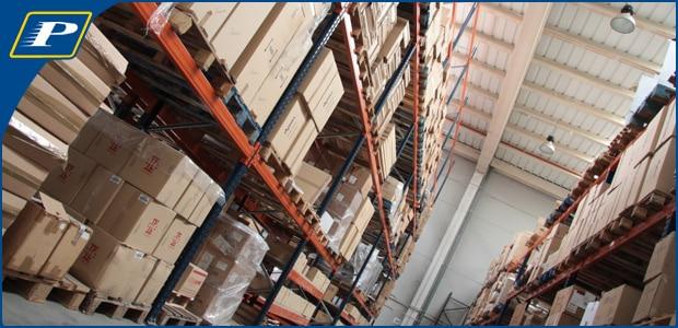 Almacén Madrid logistica de almacenamiento y recepcion de mercancias